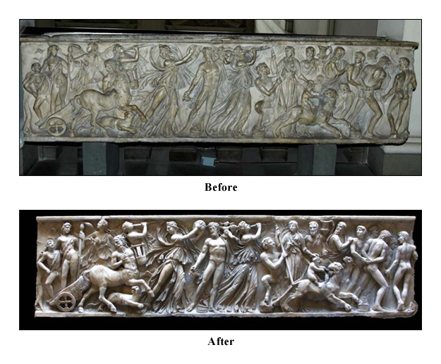 Sarcophagus with Triumph of Dionysus