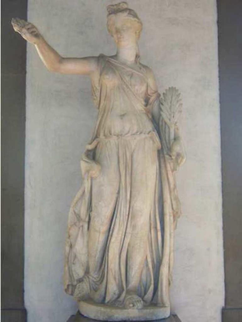 Female Statue Restored As Nike