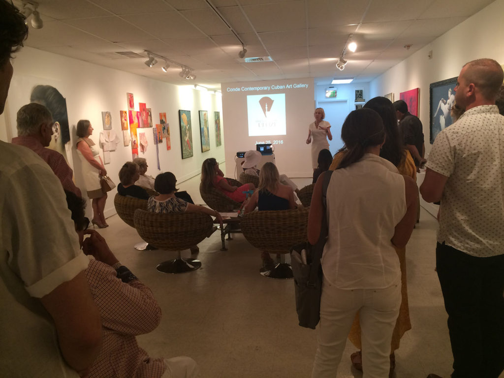 Conde Contemporary Art Gallery Reception